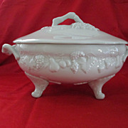 "SALE Philippe Deshoulieres Porcelain Soup Tureen Vintage ""California"""