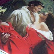 SOLD Gone-With-The-Wind Scarlett & Rhett Musicbox - 1992 Original Issue