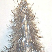 "Mid-Century Aluminum Christmas Tree...14"" Tall"