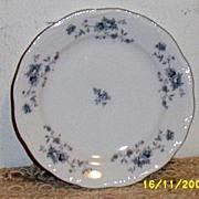 Johann Haviland Blue Garland Bread/Butter [6-Pieces]]