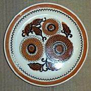 Flat Floral Motif Dessert Dishes Set [5 pieces]