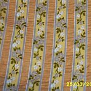 Wamsutta Mistaire Pucker Cotton Fabric Sample Cut Wallpaper Stripe In Dusty Peach
