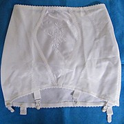 1060's Girdle With Garters From Marks & Spencer Store Private Label..NEW Condition