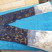 Ladies Diesel Jeans  Graduated Color Screen Printed In Gold Metallic..Size 32..MINTY