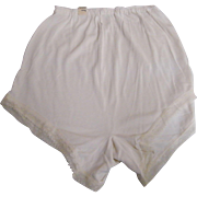 SALE PENDING Lingerie Pantie..White Lace Trim..Medium..Available 2