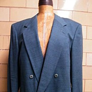 REDUCED JHANE BARNES Men's Wool Jacket In Teal..Neiman Marcus Label..Size 42L..  Excellent Con