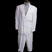 SALE Men's White Moygashel Linen Suit..Philippines..