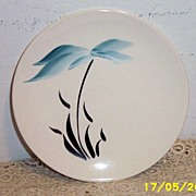 Earlton Pottery Hawaiian Palm Tree Design Dessert/Bread/Butter Dishes [6]