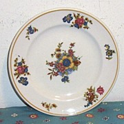 Mayer Restaurant China Dresden Pattern Salad Plate