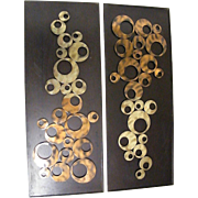 SALE Mid Century Modern Metal Sculptures...2 Same Available
