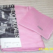 REDUCED Perky Pink Irish Linen And Rayon Blend Tablecloth/Napkins [10]  From Bloomingdales