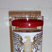 A Set Of Five American Eagle Tumblers