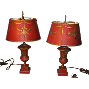 "Tole Lamps ""Made in France"""