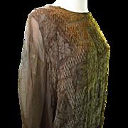 Silk Dress Circa/1920's....