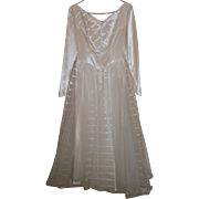 Mid Century Wedding Dress...