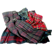 Vintage Tartan Scottish Kilts...