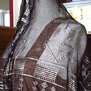 SOLD Assuit Cloth Shawl....