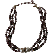 1950's Miriam Haskell necklace...