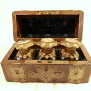 SOLD Late 19th Century Grand Tour Perfume Casket....