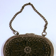 SOLD 19Th Century Metal Coin Purse....