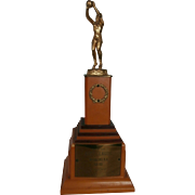 1950's Woman's Basketball Trophy...