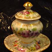 Miniature Dresden Urn...