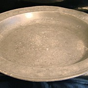 Pewter Basin - 14 3/4 Inches Diameter 19th Century