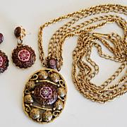 SALE Vintage Celebrity N.Y.  Gorgeous Necklace Demi