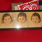 SALE Yard Long Picture Dionne Quintuplets Photos With Authentic Book