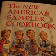SALE The New American Sampler Cookbook 1991: BiPartisan Venture for World Vision