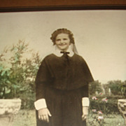SALE Wonderful Old Photograph of Young Woman in an Early Nun's Habit Louisville, KY