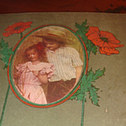 SALE 1920 Postcard Book & 11 Postcards Joseph Otis Glover, Paducah, KY