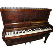 SALE Antique Collard & Collard England Rosewood Piano With Digital Conversion