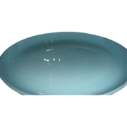 "SALE Fire King Turquoise Blue Oven Ware 7 1/4"" Salad Plate 1956 - 58"