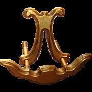 SALE Florentine Gold Gilt Gesso Wooden Easel Italian Unique Piece