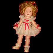 SALE Original Clothes Shirley Temple Rare Size 11 Composition Doll 1930's No Crazing
