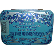 SALE Vintage Edgeworth Pipe Tobacco Tin Excellent Condition Larus & Bro. Co. Richmond, VA