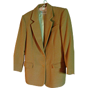 SALE Vintage Classic Richard Evans Limited Edition 100% Camel's Hair Jacket Size 10 Blazer ...