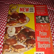 1953 Cook Book Pillsbury's 4th Grand National 100 Prize Winning Recipes