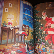SANTA LITHOGRAPH Prints Magazine Volume 40 Christmas Edition IDEALS