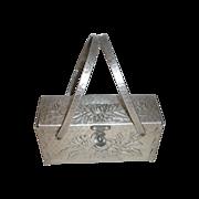 Hammered Aluminum Purse