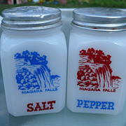 Hazel Atlas Niagara Falls Salt & Pepper