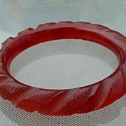 Bakelite Rope Bracelet