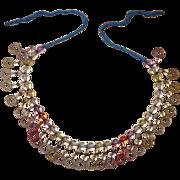 Rainbow Lucite Beaded Necklace