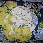 March Winds Vintage Handkerchief