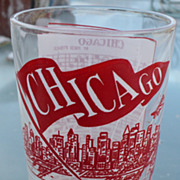 Chicago Glass Windy City Hazel Atlas