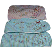 Embroidered Hanger Protector Covers