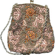 SOLD Walborg Beaded Purse - Red Tag Sale Item