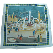Glasgow 1938 Exhibition Scarf