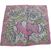 SOLD Vote Republican Elephant Handkerchief
